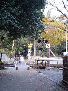 清涼寺までの道のりで。